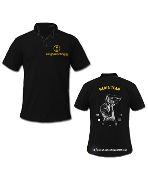 áo đồng phục in logo công ty AO0001