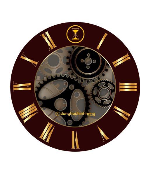 Đồng hồ in logo công ty DH0001